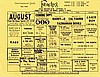 Frenchy's August 1981 Coming Attractions